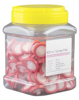EZFlow Syringe Filter Sample Prep, 0.45um, Hydrophilic PTFE, 25mm, 386-3216-OEM