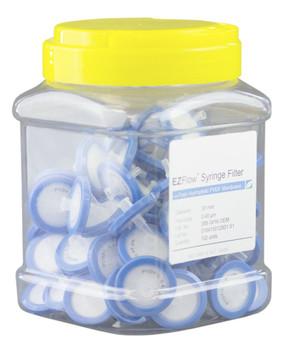 EZFlow 33mm Syringe Filter-Sample Prep, 0.45um, Hydrophilic PVDF, 388-3416-OEM