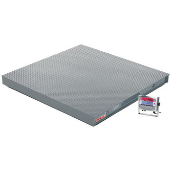 OHAUS VX32XW10000L Floor Scale Package, 10000 x 2 lb, 4' x 4'
