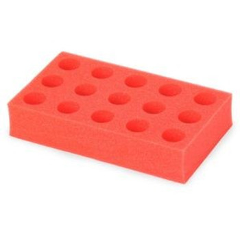 OHAUS 50mL Tube Rack for Vortex Mixers, Red