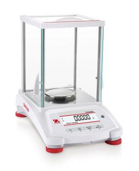 OHAUS PX124 Pioneer Analytical Balance, 120 g x 0.1 mg, Internal Cal