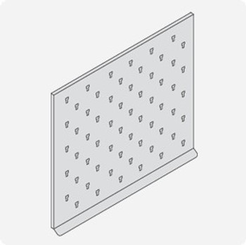 """Inter Dyne Systems Stainless Steel Pegboard Drying Rack, 36"""" x 30"""""""