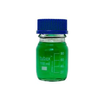 Benchmark Scientific Hybex ™ Glass Media Storage Bottles, 100 ml