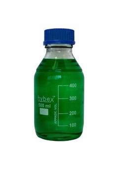 Benchmark Scientific Hybex ™ Glass Media Storage Bottles, 500 ml