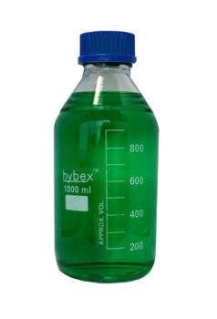 Benchmark Scientific Hybex ™ Glass Media Storage Bottles, 1000 ml