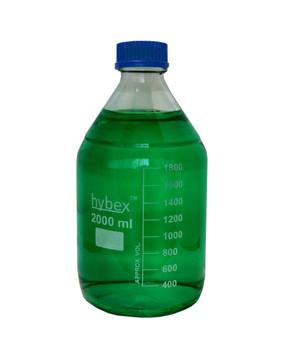 Benchmark Scientific Hybex ™ Glass Media Storage Bottles, 2000 ml