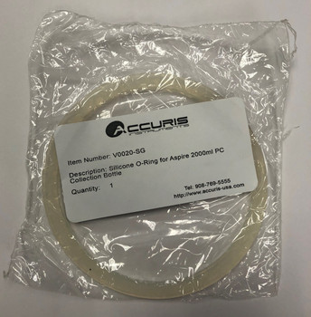 Accuris V0020-SG Silicone O-ring for Aspire Collection Bottle