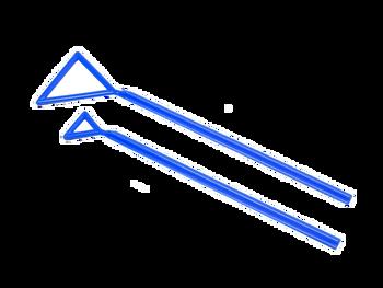 MTC Bio Triangle Sterile Microbiological Spreaders