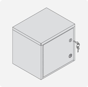 Combination & Key Lock Cabinet - Small