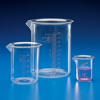polymethylpentene griffin low form beakers