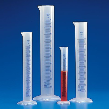 globe scientific graduated cylinders printed graduations