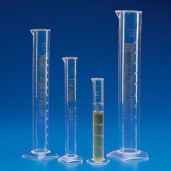 Globe Scientific Polymethylpentene molded graduated cylinder