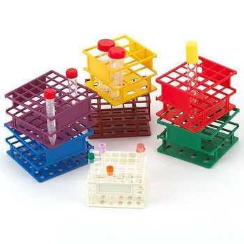 Globe Scientific 25 mm wireless tube rack