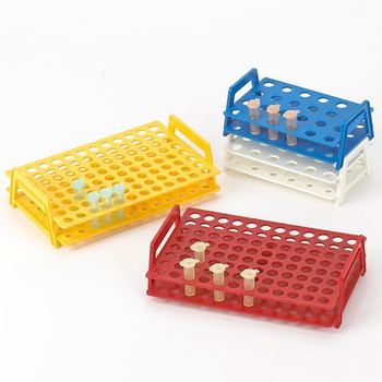 globe scientific microtube rack with handles 96 place