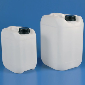 Globe Scientific 5 liter Heavy Duty HDPE Carboys
