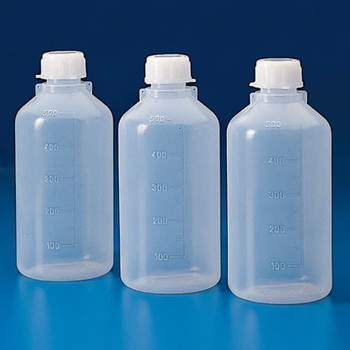 Globe Scientific 2000 ml Narrow Neck Round Bottles