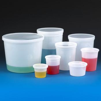 globe scientific hdpe multi purpose containers