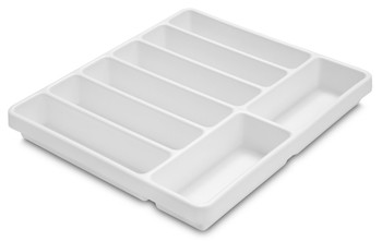 8 Compartment Polystyrene Drawer Organizer 19 x 18 x 2