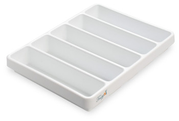 5 Compartment Polystyrene Drawer Organizer, Large