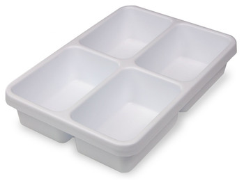 Compact Tray and Drawer Organizer - Four Pocket