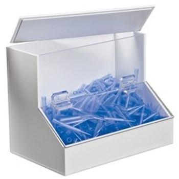 PVC/Acrylic Dispensing & Organizing Bin - Medium