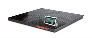 Rice Lake Rough-n-Ready 4' x 4' 10k Floor Scale with 482 Plus Legend Indicator