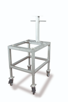 Rice Lake BenchMark MSC-10 Stainless Steel Clean Room Scale Cart