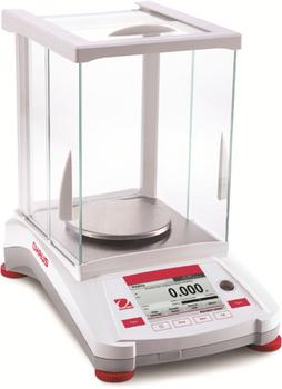 OHAUS AX223/E Adventurer Precision Balance, 220 g x 0.001 g, External Cal