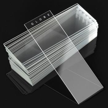 90° Ground Edge Plain Glass Microscope Slides - 25 x 75mm