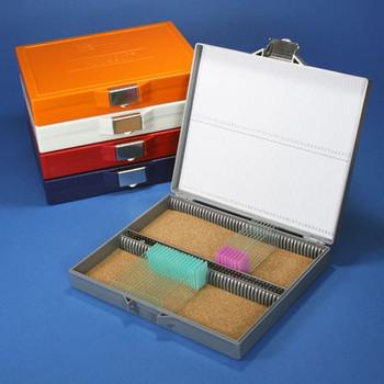 Microscope Slide Locking Storage Box - 100 place