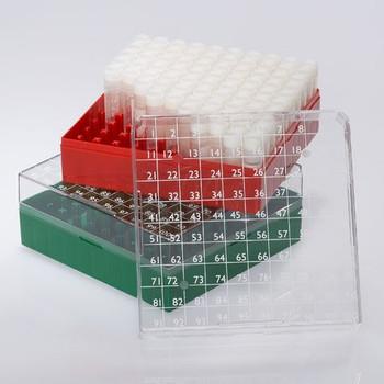 Globe Scientific 100 Place BioBox for 1 & 2mL Cryogenic Vials