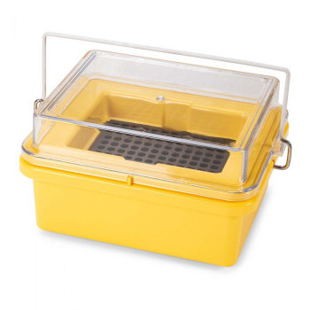 Globe Scientific Yellow Mini Cooler, 8 x 12