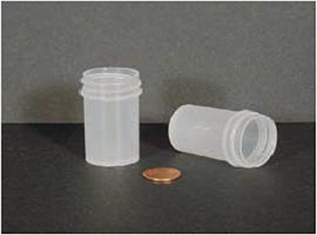 Globe Scientific Polypropylene Storage Jar, 26mL