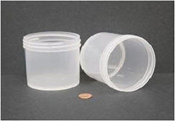 Globe Scientific Polypropylene Storage Jar, 360mL, 89mm Opening