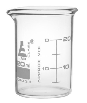 20ml beaker, pack of 12