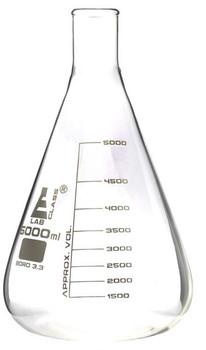 5000ml erlenmeyer flask