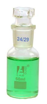 60ml glass reagent bottle