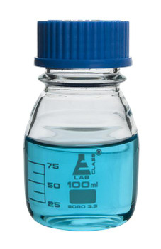 100ml glass reagent bottle