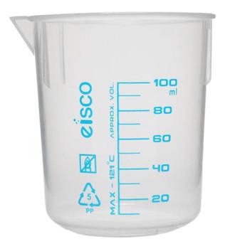 plastic beaker 100mL