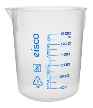 plastic beaker 600mL
