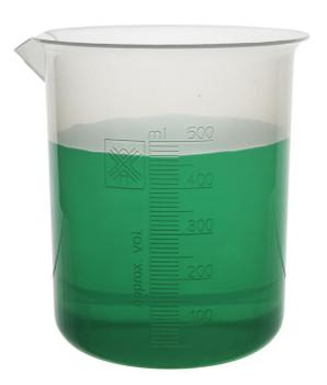 plastic beaker 500mL