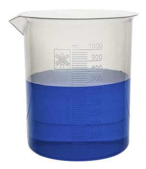 plastic beaker 1000mL