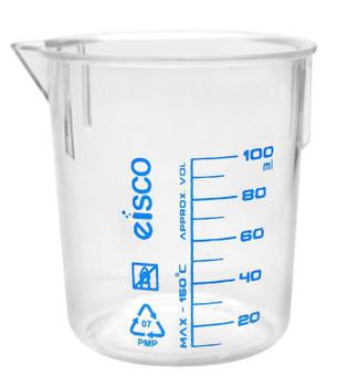 TPX plastic beaker 100mL