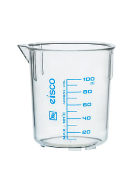 TPX plastic beaker 250mL