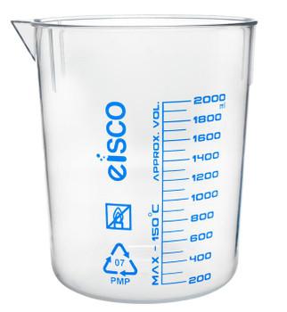 TPX plastic beaker 2000mL