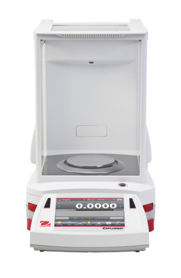 OHAUS EX224N/AD Explorer Analytical Balance 220g x 0.1mg NTEP InCal Autodoor
