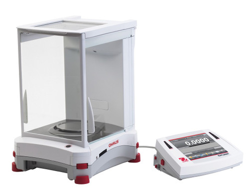 OHAUS EX324N/AD Explorer Analytical Balance 320g x 0.1mg NTEP InCal Autodoor