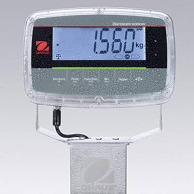 ohaus defender 6000 polycarbonate indicator