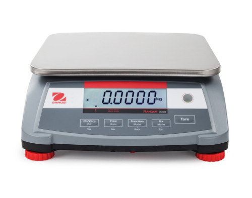 OHAUS R31P1502 Ranger 3000 Compact Bench Scale 1.5 kg / 3 lb NTEP
