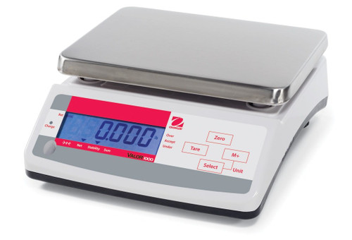 OHAUS V11P15 Valor 1000 Compact Food Scale 33 x 0.005 lb